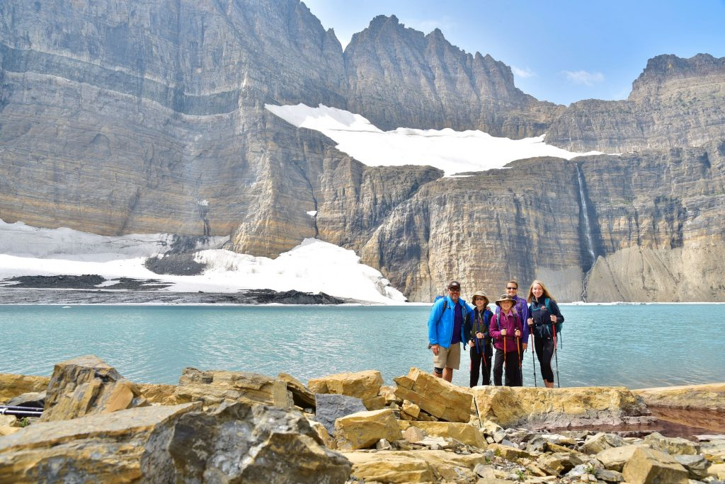 Wiscohana at Upper Grinnell Lake.