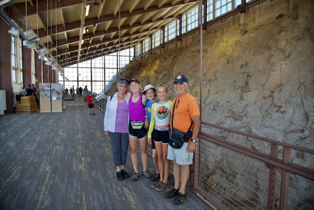 Dinosaur Quarry Hall Exhibit
