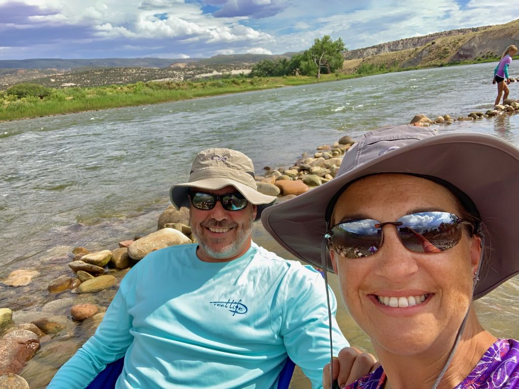 staying cool in the Green River